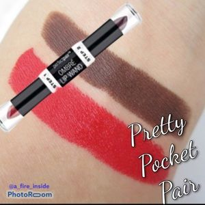 Pretty Pocket Pair Ombré Lip Wand Lipstick Glam